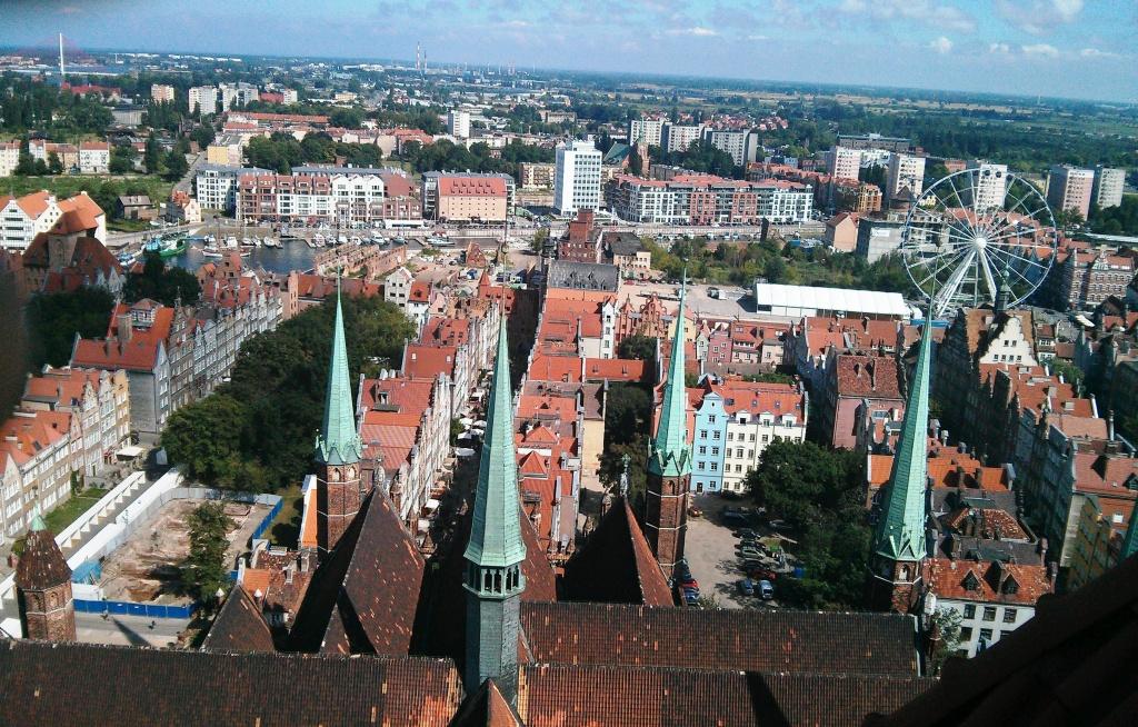 Gdańsk z wieży