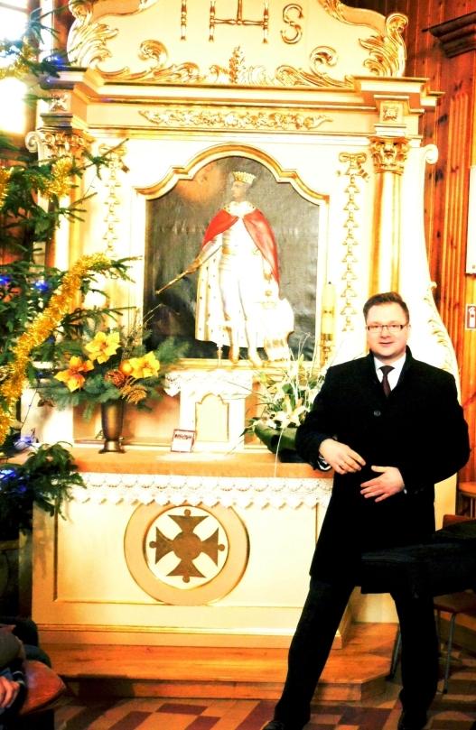 pan Karol Krawczyk organista-dyrygent